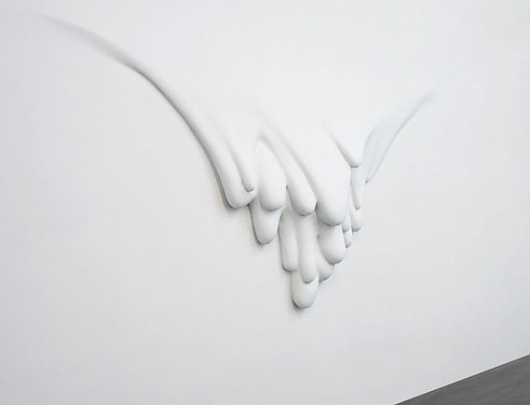 Creative Review - Oh wow, it's Daniel Arsham #paint #sculpture #wall