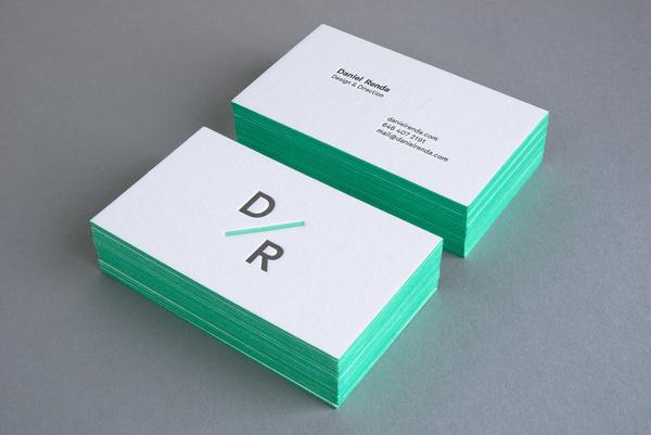 Personal Branding Daniel Renda #business #card #letter #press #stationery