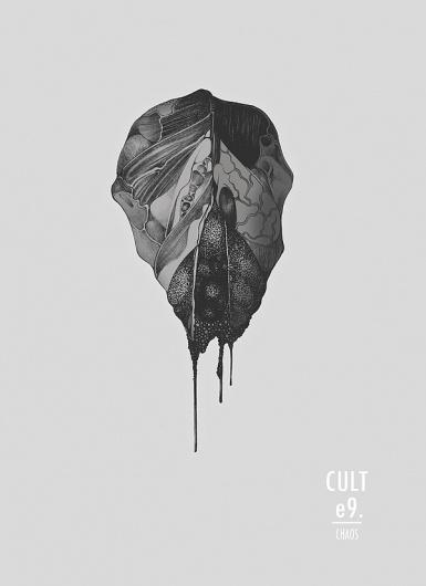 cult illustration on the Behance Network #poster
