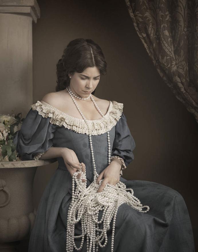 Melancolic Pearls by Maisie Broadhead