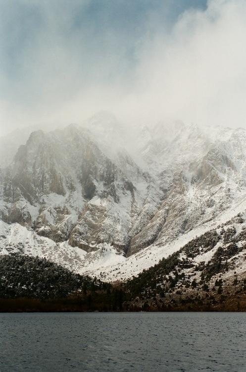 mountain landscape #snow #mountain #water #landscape
