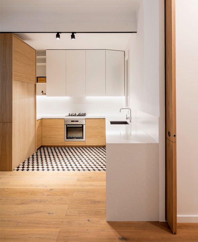 Alan's Apartment Renovation by Adrian Elizalde - #decor, #interior, #home