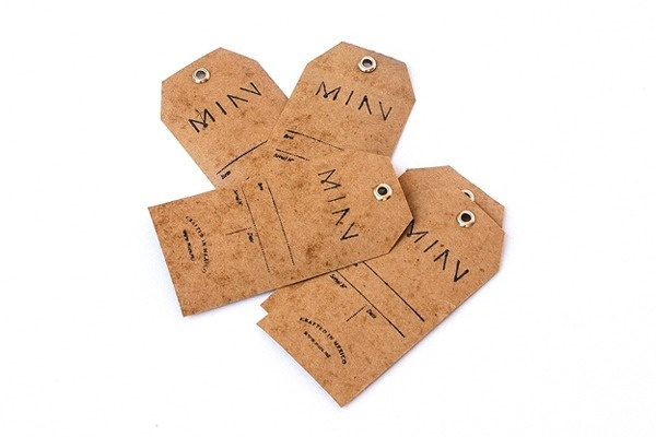 Miau on Behance #branding #label #tag #leather #made #hand