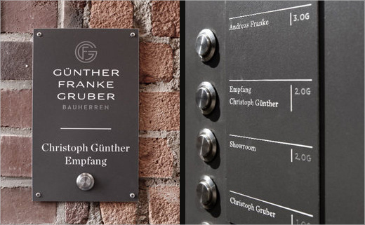 Branding for Property Developers: GFG Bauherren - Logo Designer #signage