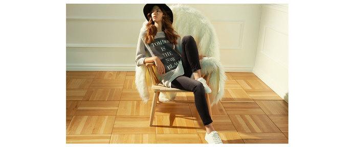 Stradivarius Polska - LookBook #black #hat #casual #stradivarious #jeans