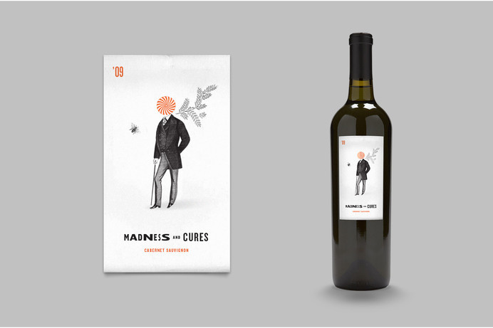 X Winery #mm #bottle #packaging #design #graphic #wine