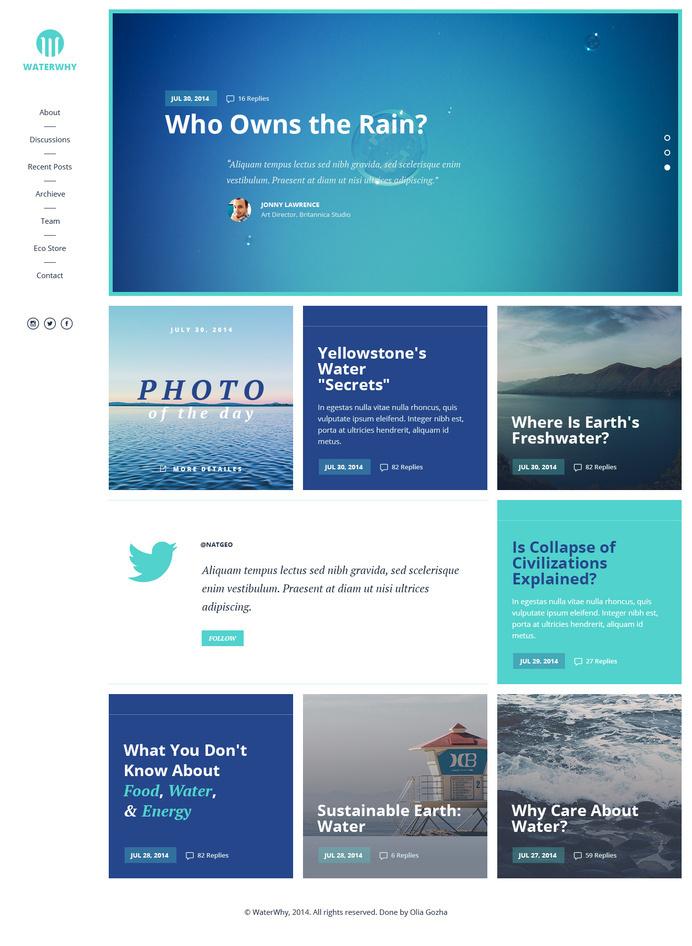 Freebie-page #design #ui #website #grid #blog #layout #web