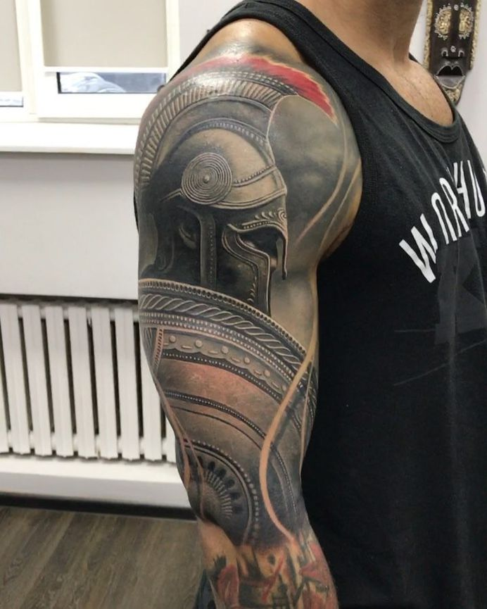 Tattoo Skull – Cover up in progress