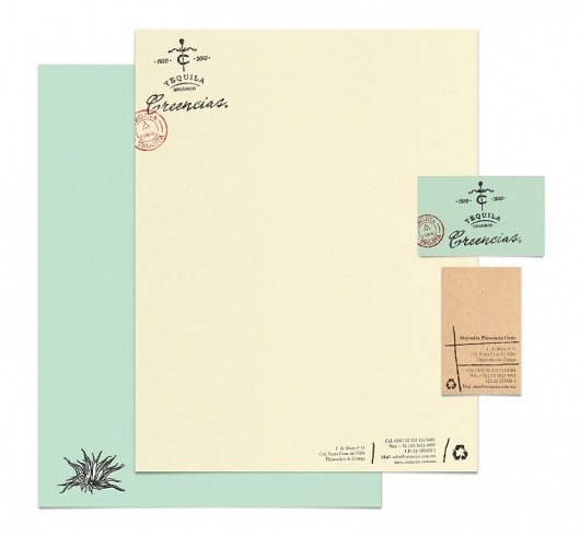 lovely-stationery-creencias1.jpg 830×768 pixels #type #stamp #letterhead