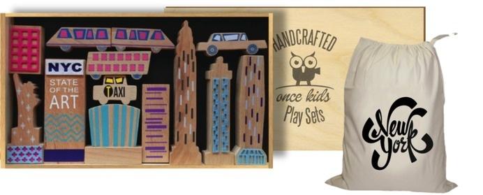 new york play set #toys #once #wood #kids #nyc