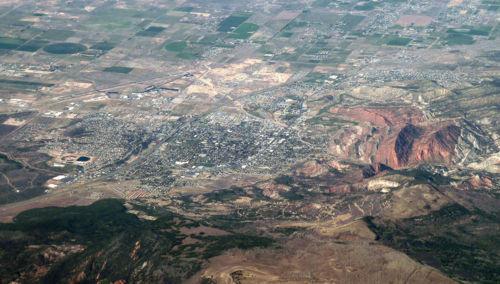 The Depository Cedar City Utah Landscape Photography Aerial