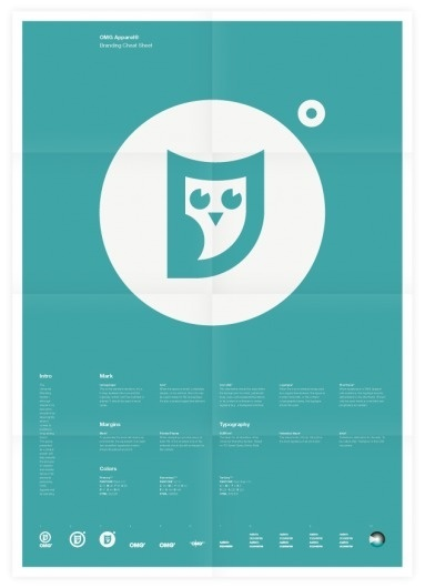 Universal Branding System (OMG Apparel) Poster #inspiration #creative #design #graphic #grid #system #poster #typography