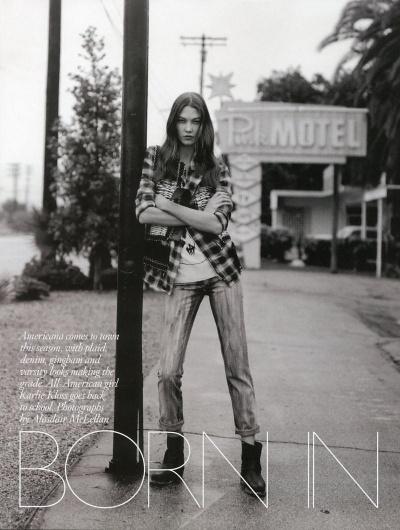 Karlie+Kloss+in+Vogue+(1).jpg (800×1060) #model #kloss #lifestyle #varsity #american #karli #photography #fashion #female