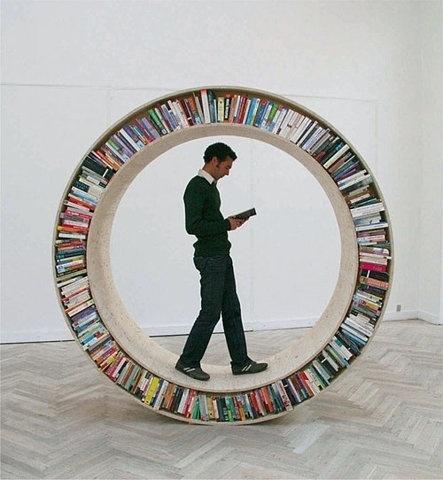 FFFFOUND! #bookcase #read