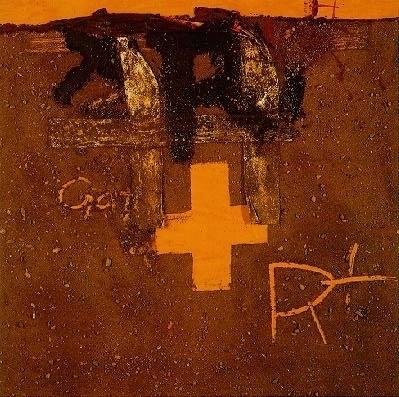 ma25_tapia_09.jpg 399×397 pixels #i #tpies #antoni #spanish #1975 #creu #painting #art #r
