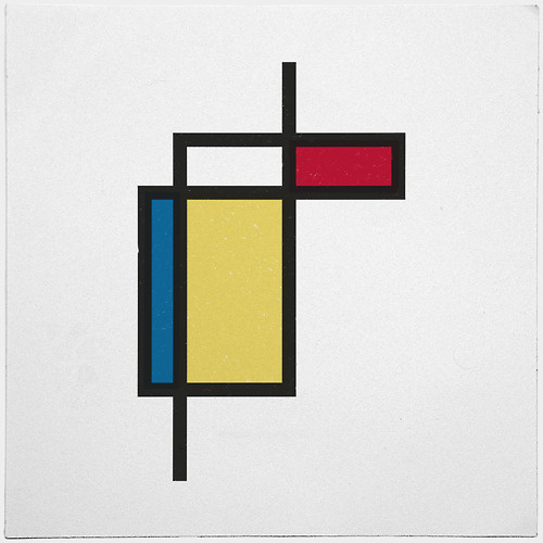 #187 What if Mondrian was right? – A new minimal geometric composition each day