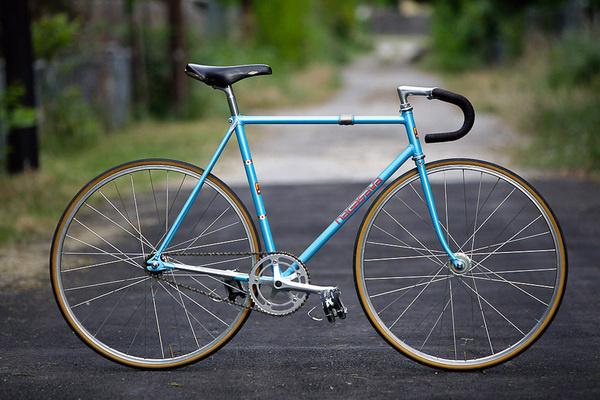 Chris' Blue Nagasawa Track #bicycle #track #bike #fixed