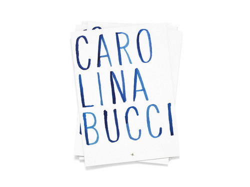 Make Mistakes. #carolina #bucci #simple #minimal #blue #typography