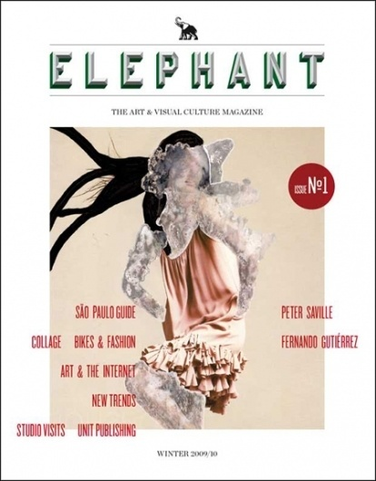 Creative Review - A magazine called Elephant #print #illustration #layout #editorial #typography