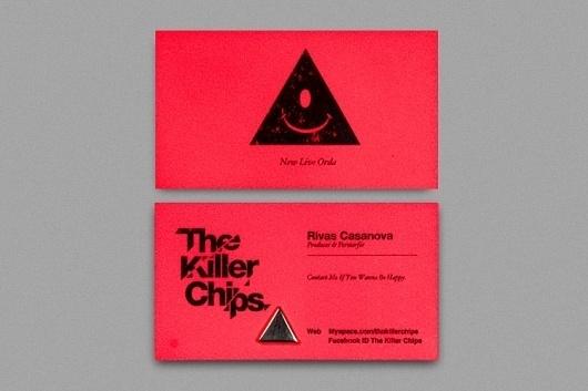 The Killer Chips #paradi8e #mexico #triangle #identity #music #helvetica #cuu