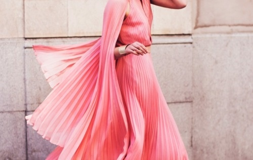 sara lindholm:Fashion photography, pink dress #fashion #photography