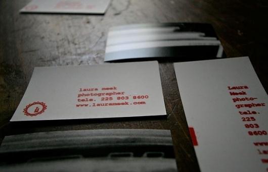 Laura Meek Photographer: Business Cards :: IAN R. HANSON #business #card #print #screen #identity #photographer
