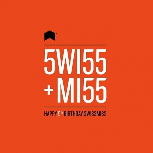 Swissmiss | Neuarmy™ #design #birthday