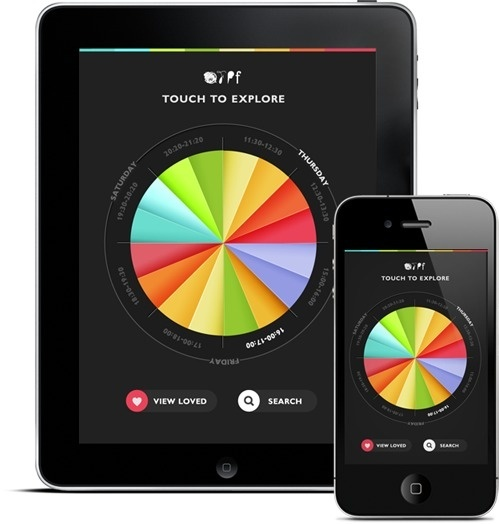 OFFF APPP 2012 #infograph #ux #ipad #somewhat #design #interface #ui #iphone #lemmens #dackevall #matilda #html5 #cas