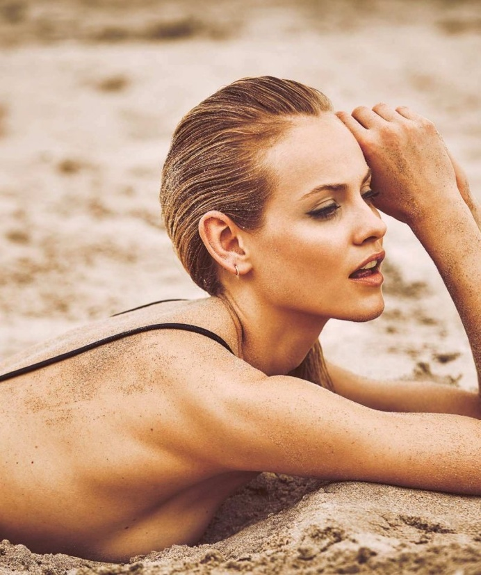 Ginta Lapina by Guy Aroch for Harper's Bazaar Spain May 2016