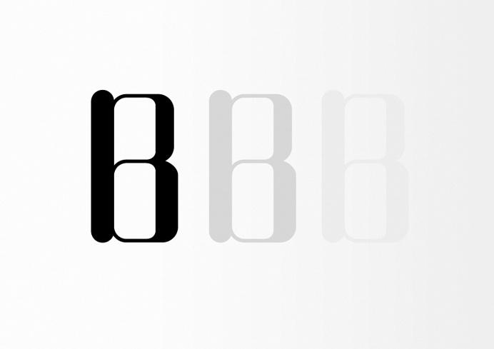 B B B #tipography #type #B