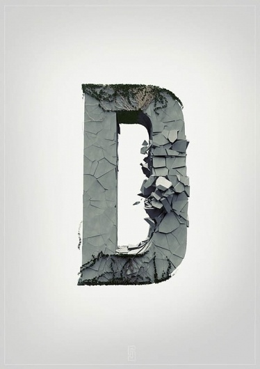 Amplifying The Typography Experience - mashKULTURE #alphabet #typo