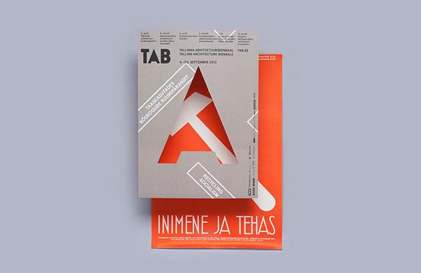 Tallinn Architecture Biennale 2013 #cover #design #graphic