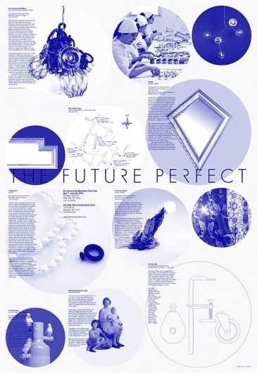 The Future Perfect Poster on the Behance Network #design #graphic #poster