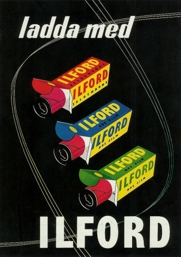 All sizes | Untitled | Flickr - Photo Sharing! #ilford #advert #illustration