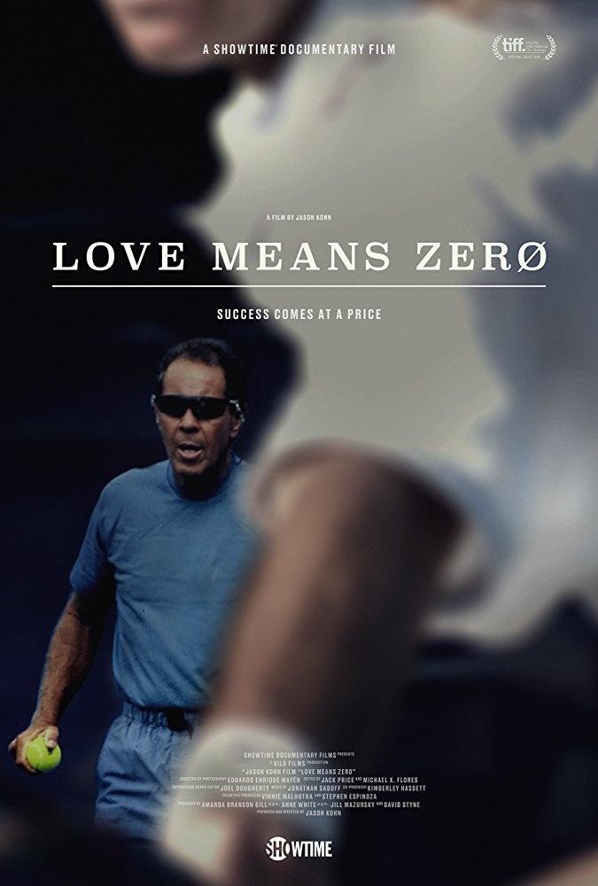 LOVE MEANS ZERO film poster