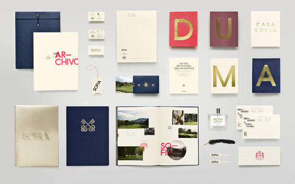 Anagrama   Sofia by Pelli Clarke Pelli Architects #collateral #typography