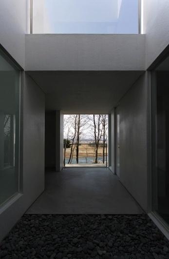 Cold Rockin #concrete #stones #doorway #architecture #trees