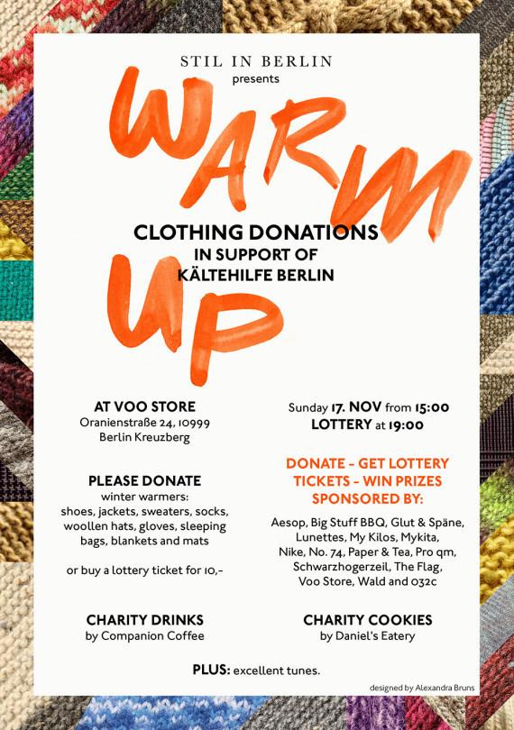 Stil in Berlin — Warm Up #handmade #art #typography