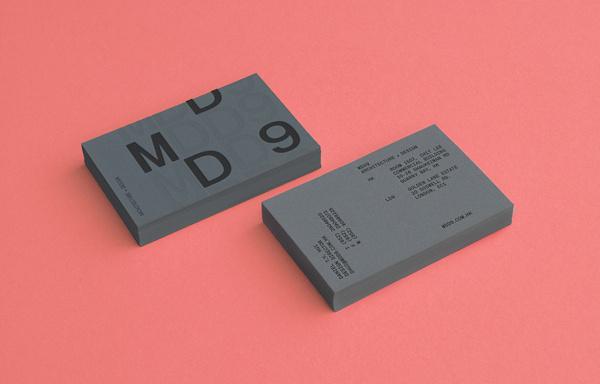 MDD9 on Behance #identity