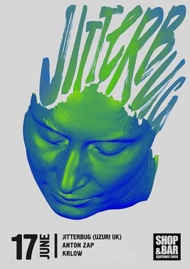 Jitterbug poster - Young & Fresh #artem #design #gridin #poster