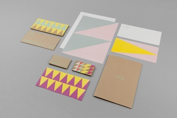 Good design makes me happy: Project Love: Spa Q Identity #colour #identity