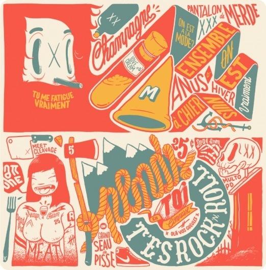 mcbess #inspiration #lettering #design
