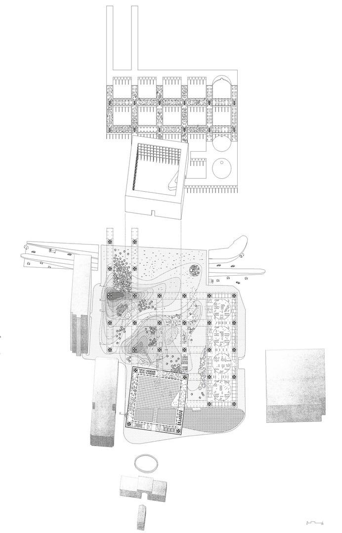 Matteo Mannini Architects[Bab Al Bahrain Competition, 2012 #concept #architecture