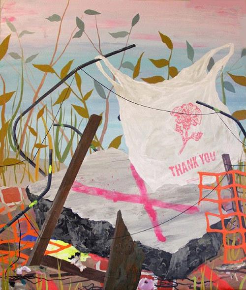 Artist painter Michelle Fleck #painting