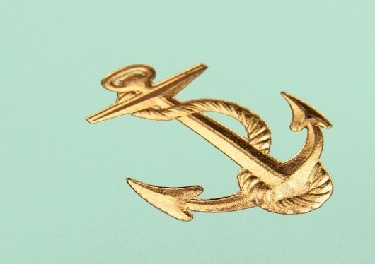 Inspiration « Göteborgstryckeriet #gold #anchor #print #foil