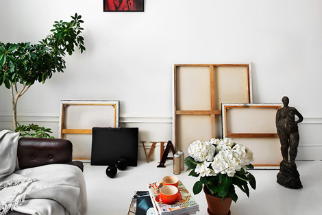 Apartment in Sweden #interior