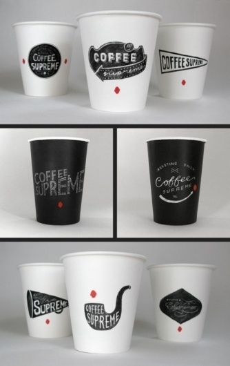 SerialThriller™ #branding #packaging #design #coffee #typography