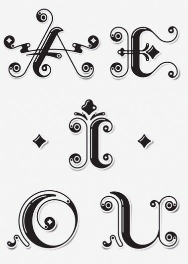 Luke Williams #illustration #typographie #hacer