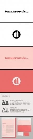 Mash Creative - Portfolio - Tomorrow is... #identity