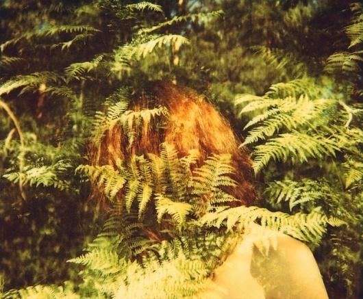 Flickr: Your Photostream #pola #girl #photo #polaroid #film #forest #trees